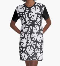 Mini Husky Graphic T-Shirt Dress