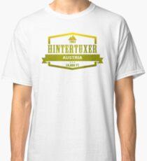 Hintertuxer Ski Resort Austria Classic T-Shirt