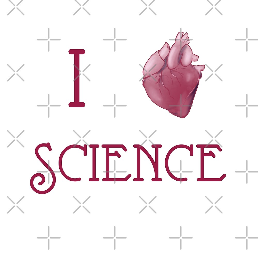 I Heart Science by dearestjester