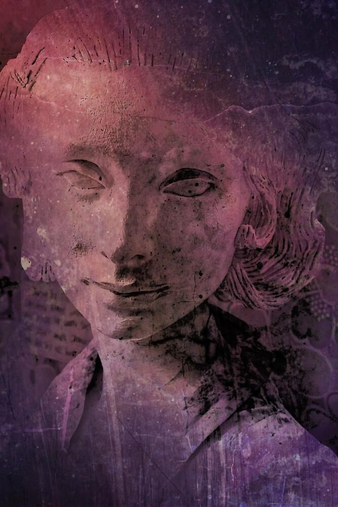 Woman in Purple Haze by Stephen Frost