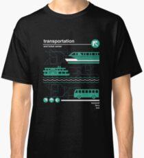 Einschienenbahn, Bus und Fähre Classic T-Shirt