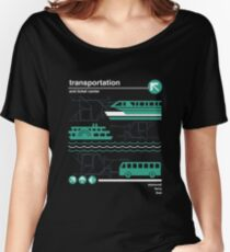 Monorail, Bus and Ferry Women's Relaxed Fit T-Shirt