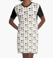 Time for Toast Graphic T-Shirt Dress