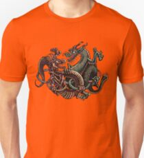 Dragons Fighting in Rings T-Shirt