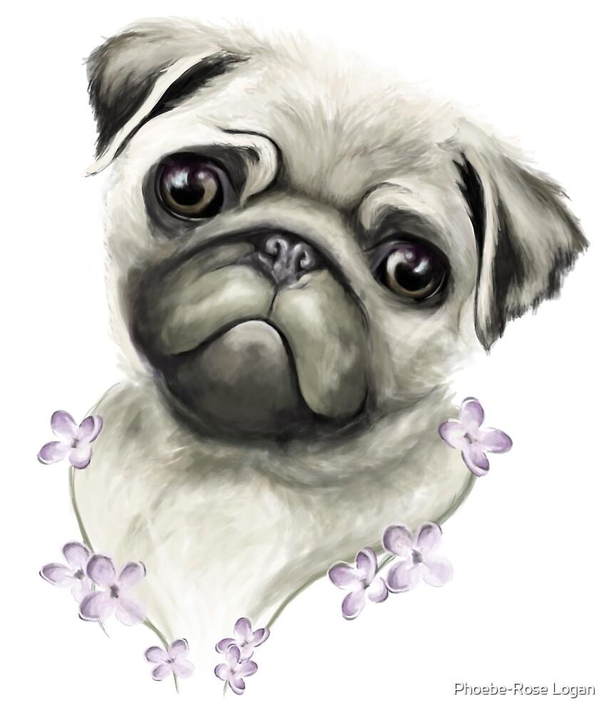 Pug Life by Phoebe-Rose Logan
