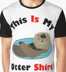 Funny This Is My Otter Shirt Graphic T-Shirt