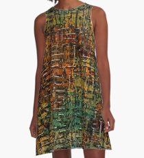 Keys to Steampunk A-Line Dress