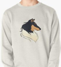 Tricolor Rough Collie Pullover