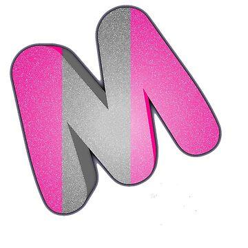 "Light Purple Mug ""M"" by MaskedNinja"
