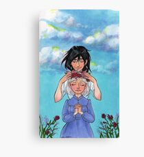Sophie and Howl: Sophie's Coronation Canvas Print