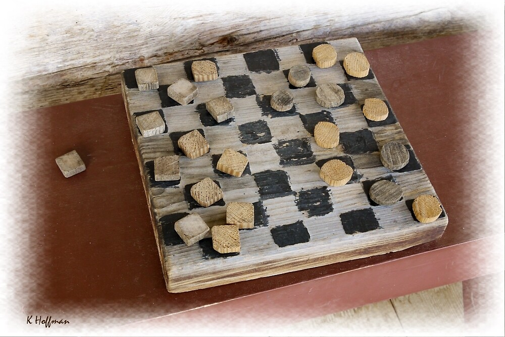 Checkers by Craft by Kenneth Hoffman