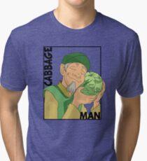 Cabbage Man; The Avatar Series Tri-blend T-Shirt