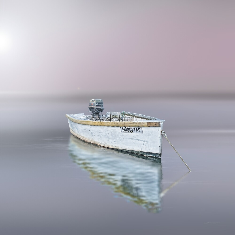 Chatham moored, Cape Cod by sharkshutter
