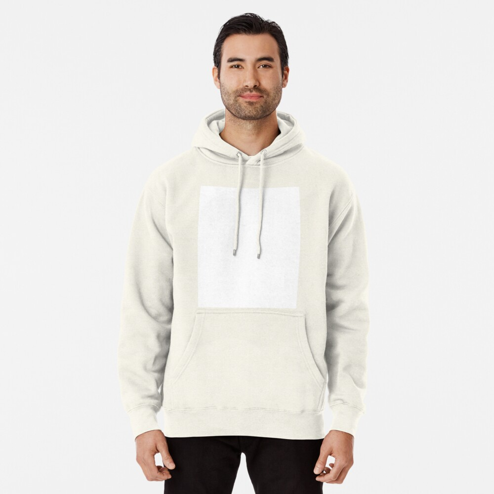 PLAIN WHITE | VERY WHITE | NEUTRAL SHADE | WE HAVE OVER 40 SHADES AND HUES IN THE NEUTRAL PALETTE Pullover Hoodie