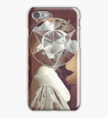 Geometric bust iPhone Case/Skin