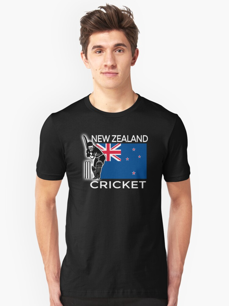 New Zealand Cricket Unisex T-Shirt Front