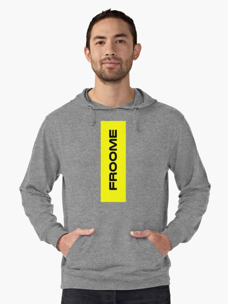 Chris Froome Yellow Lightweight Hoodie Front