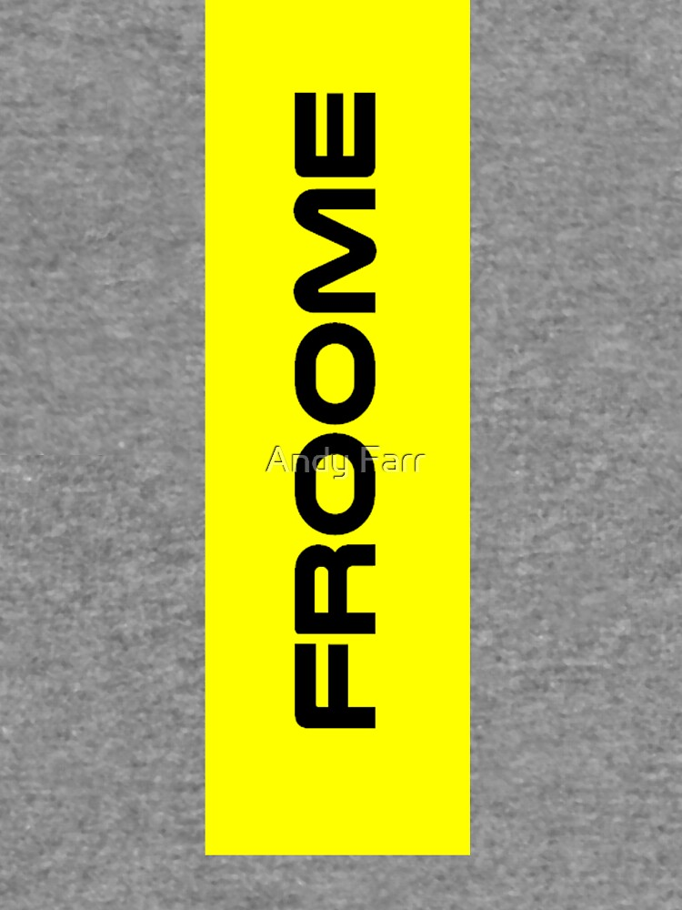 Chris Froome Yellow by AndyFarr