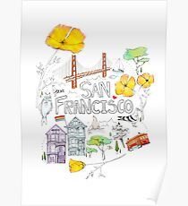 Friends + Neighbors : San Francisco Poster