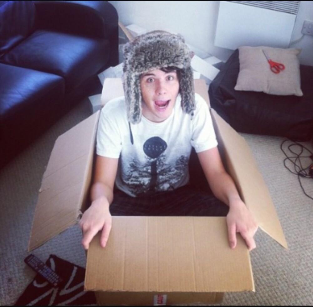 Dan in a box  by Hailey Lopez