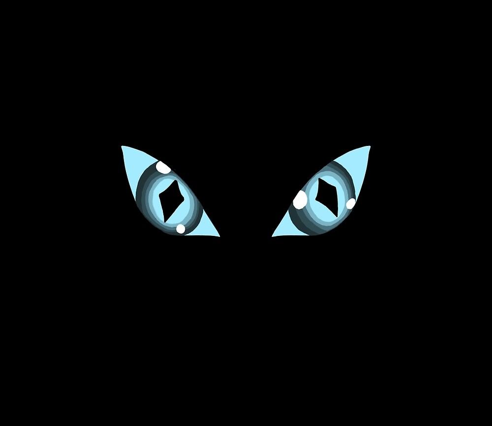 Cat eyes by HannahSalsberry