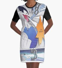 It's Lugia!! Manga Edit Graphic T-Shirt Dress