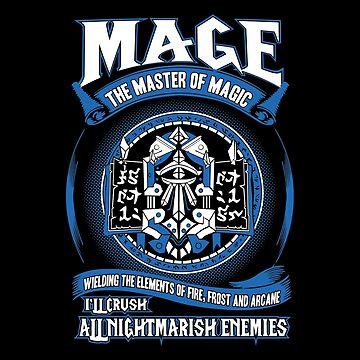 Warcraft - Mage The Master Of Magic by ruffanthony