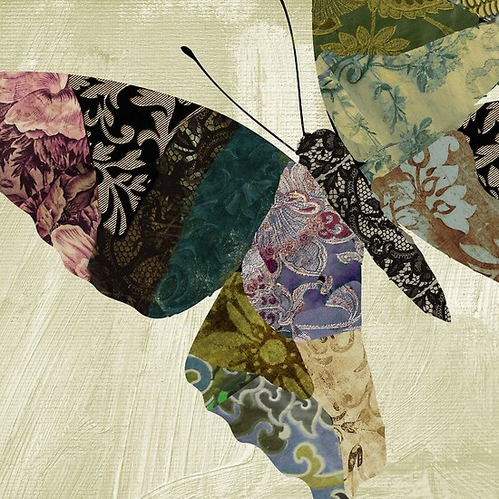 Butterfly Brocade IV by mindydidit