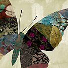 Butterfly Brocade III by mindydidit