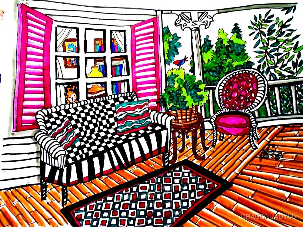 MY FRONT PORCH by DRAGONLADY66