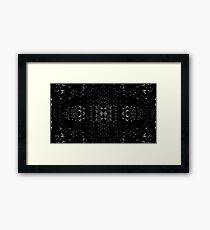 Missing Pieces Framed Print