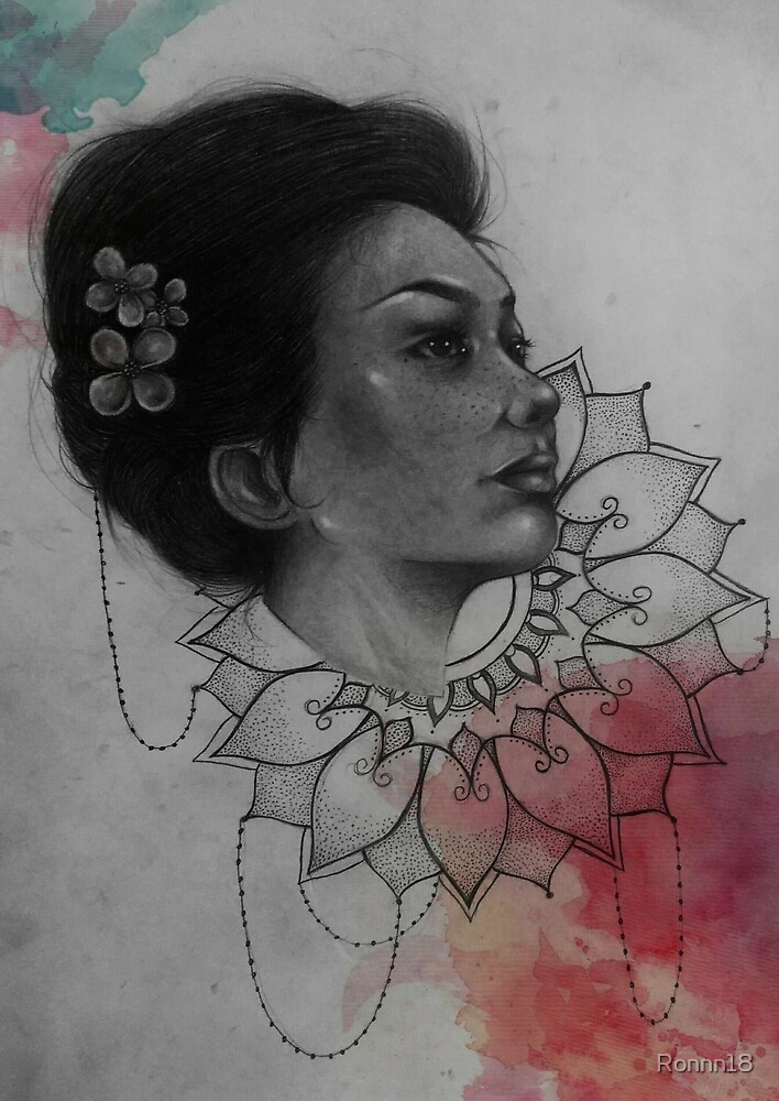 Mandala Flower  by Ronnn18