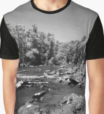 In the Rapids at Sweetwater Creek Graphic T-Shirt