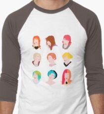 Hayley-Muster Baseballshirt für Männer