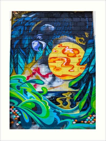 Street Art - Graffiti - Fremantle Western Australia 2015 by RoseMeddings