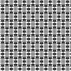 Funky Black White Pattern V1 by ARTDICTIVE