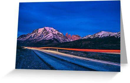 Dawn at Torres del Paine - Patagonia, Chile by JamesKaoFoto