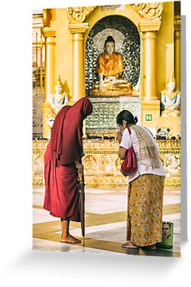 Blessings of a Stranger - Yangon, Myanmar by JamesKaoFoto