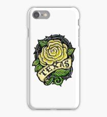 Texas Yellow Rose iPhone Case/Skin