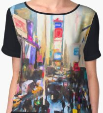 Times Square Women's Chiffon Top