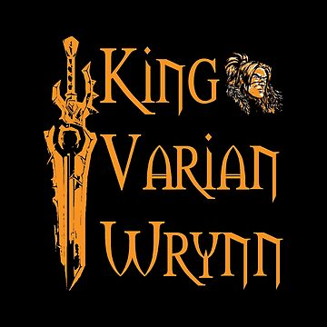 Warcraft - King Varian Wrynn by bonniegregory
