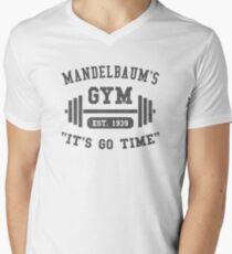 Mandelbaum's Gym Men's V-Neck T-Shirt