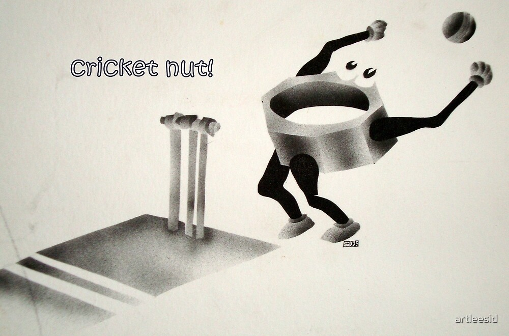 Cricket nut! by artleesid