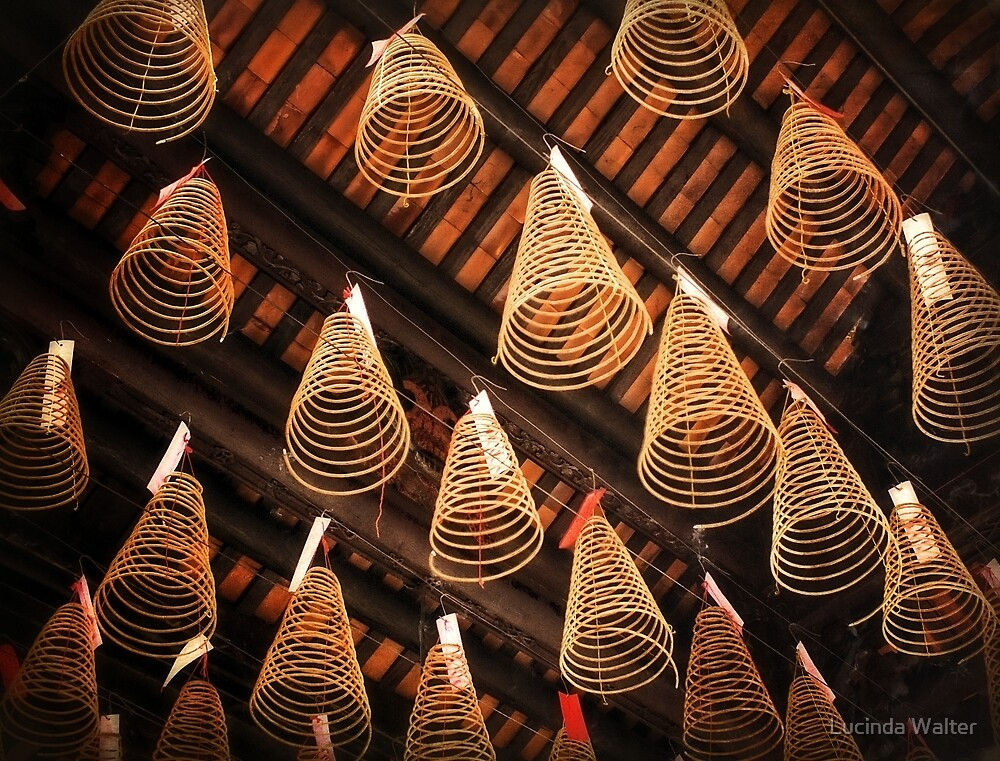 Incense Coils by Lucinda Walter