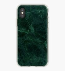 Green Marble Pattern iPhone Case