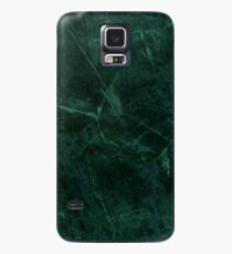 Green Marble Pattern Case/Skin for Samsung Galaxy