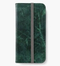 Green Marble Pattern iPhone Wallet/Case/Skin