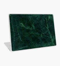 Grünes Marmor-Muster Laptop Skin