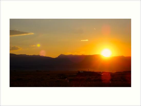 Sunset by paigebauske