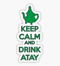 DrinkAtay Sticker